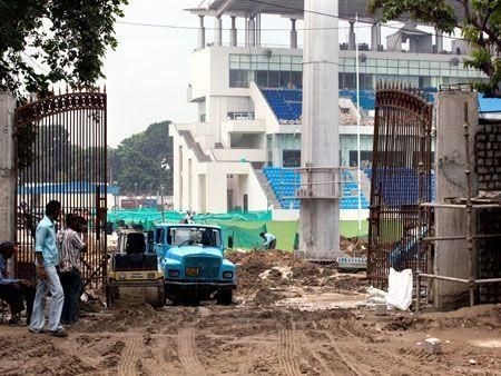 Work still on ahead of Commonwealth Games in India