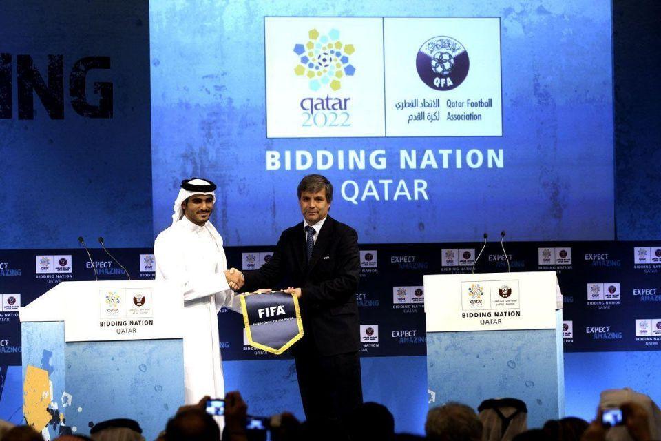 Qatar's bin Hammam faces FIFA bribery claims
