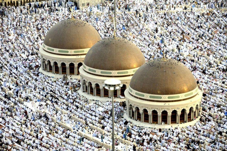 More than 2 million Muslim pilgrims begin hajj