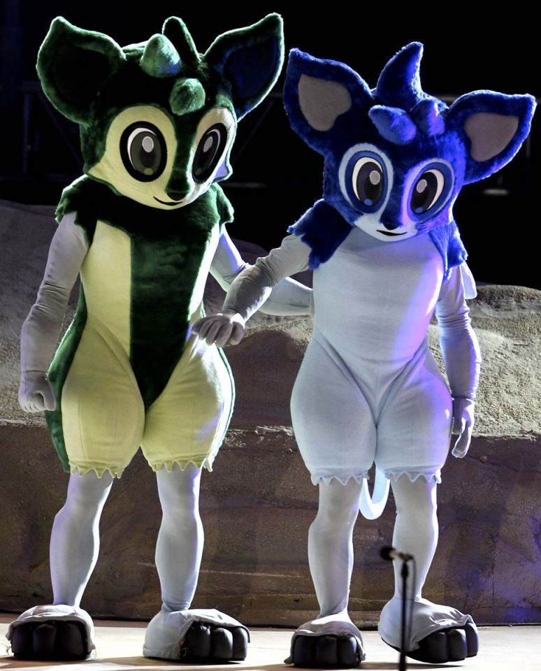 Qatar AFC Asian Cup mascots unveiled
