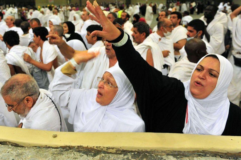 The annual hajj pilgrimage to Makkah