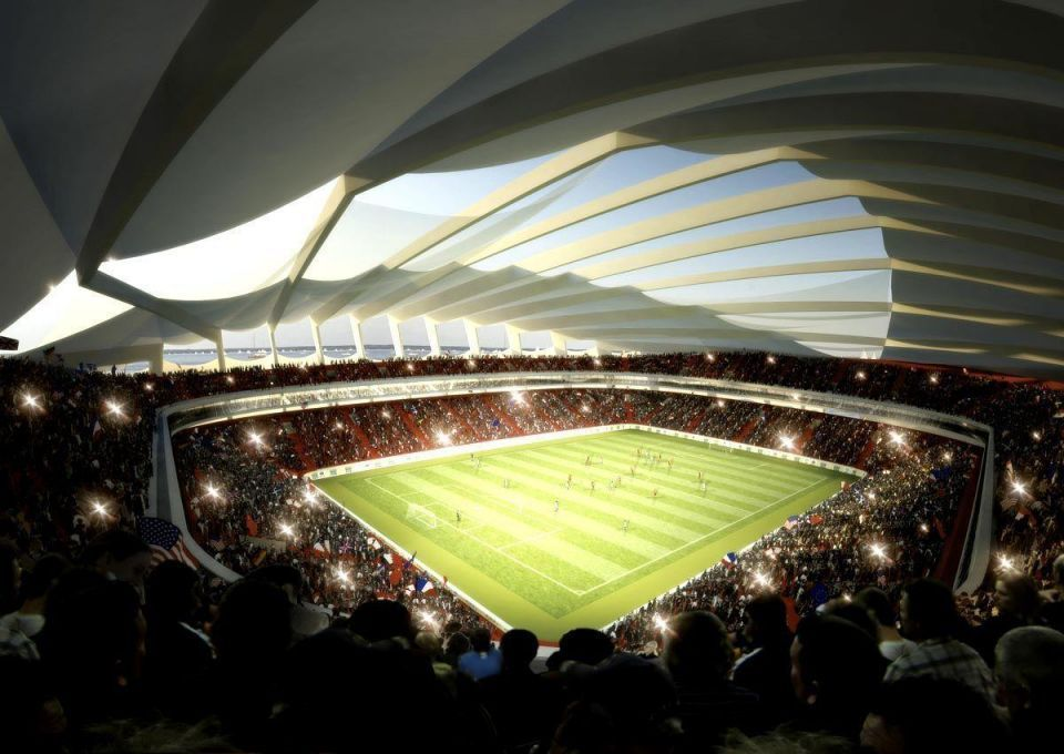 Qatar races to develop solar stadium cooling