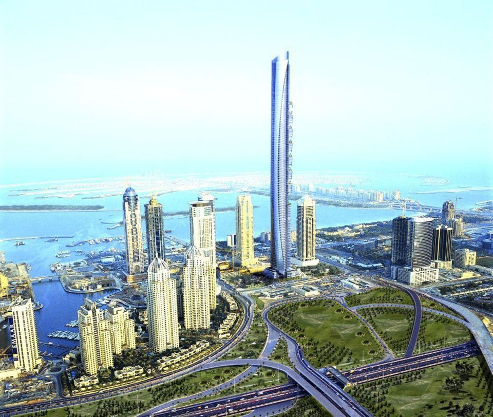 Cash-flow problems delay Dubai skyscraper