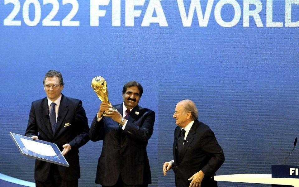 Blatter says Qatar World Cup 2022 case is closed