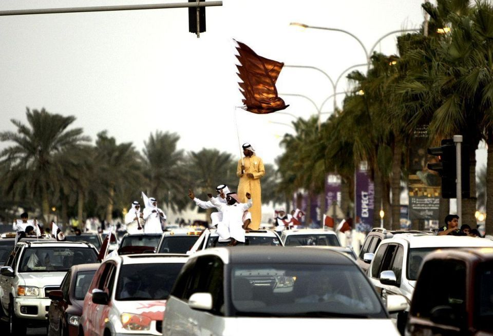 Qatar celebrates hosting the World Cup 2022