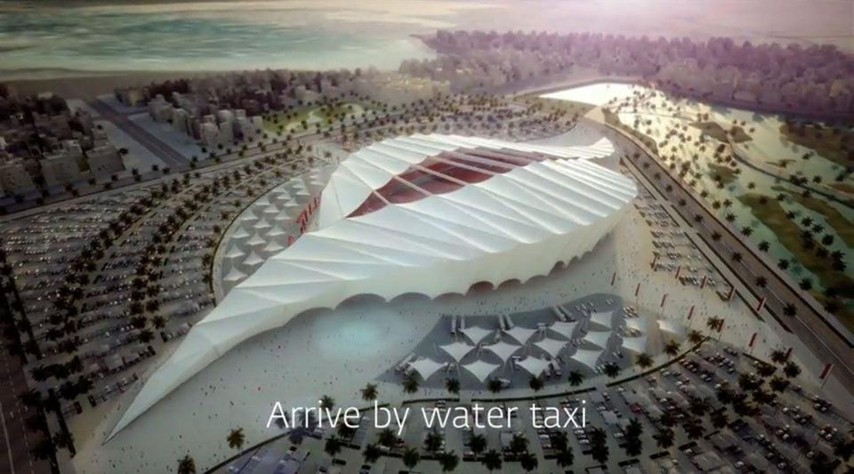 Qatar World Cup 2022: Inside the Al Khor football stadium