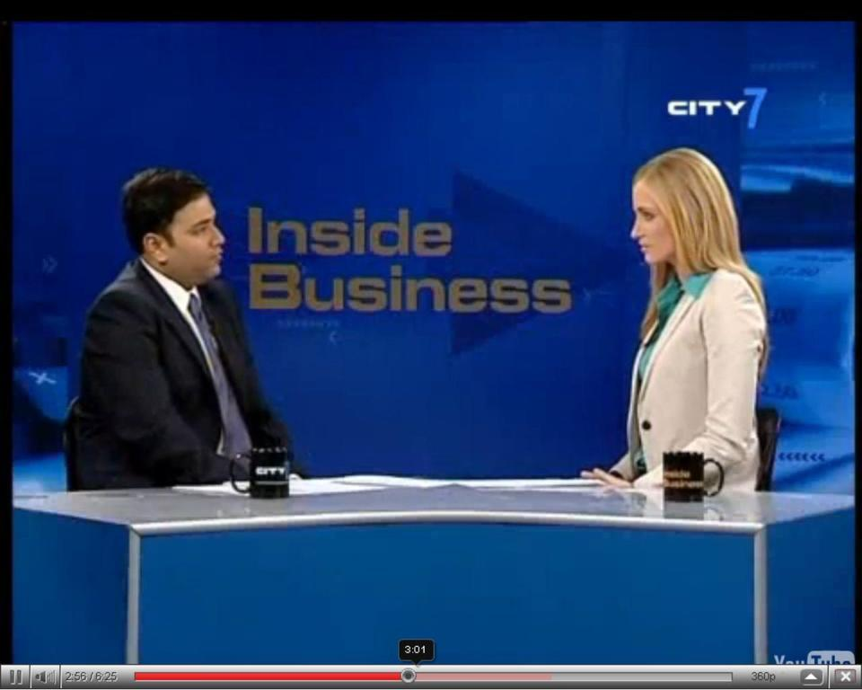 TV interview: Dr Finance speaks to Dubai's City 7 TV channel