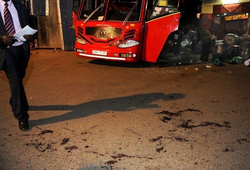 Three dead in Kenyan bus station bomb blast