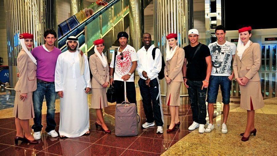 AC Milan stars arrive to train in Dubai