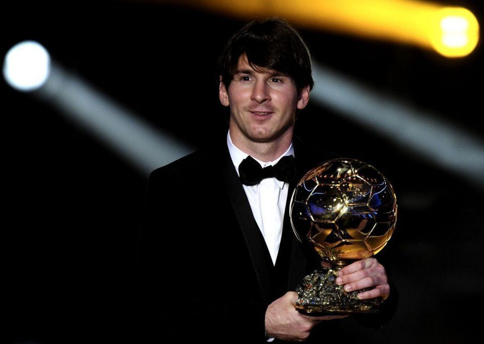 Messi wins World Player of the Year award