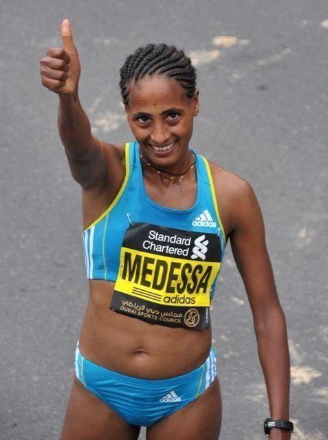 Barmasai, Medessa take titles in Dubai Marathon