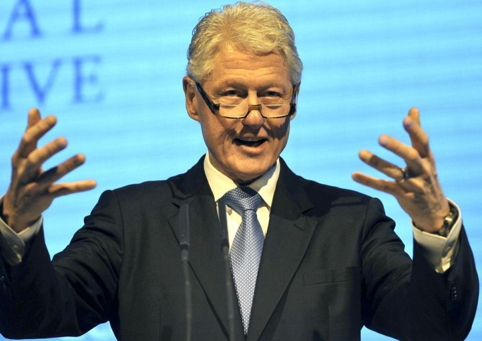 Clinton says co-operation key to better global education