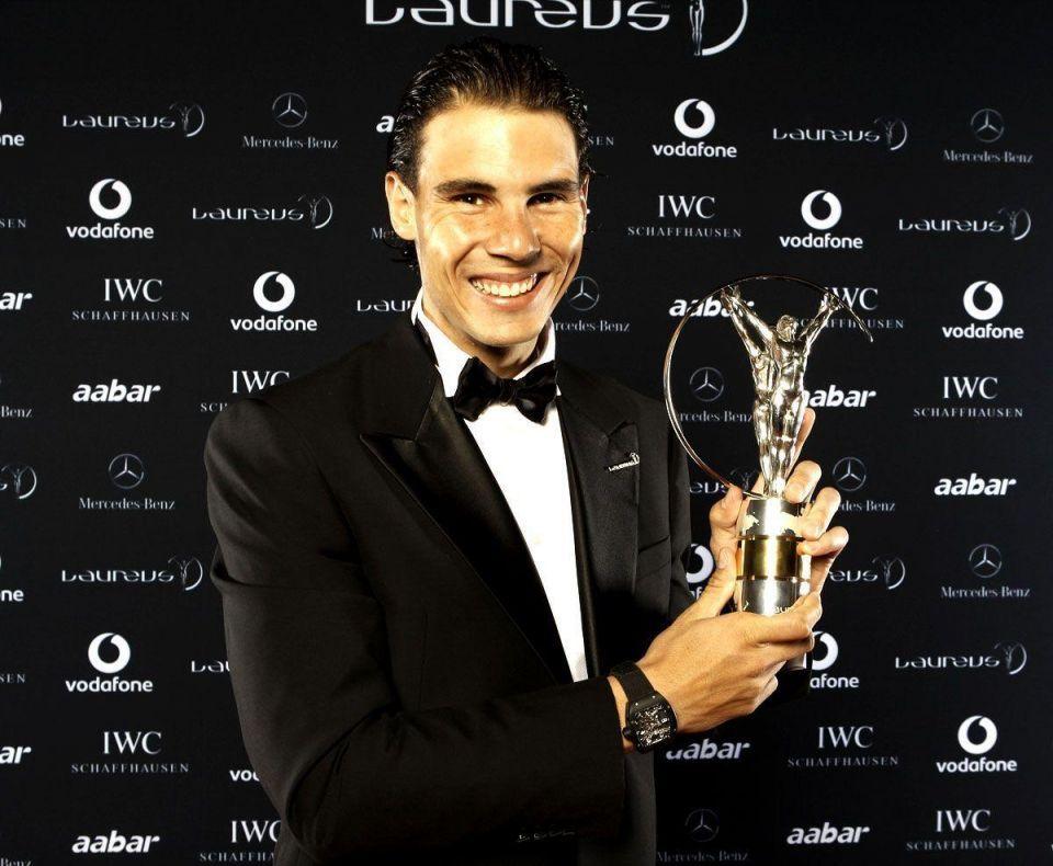 Nadal and Vonn win World Laureus sports awards