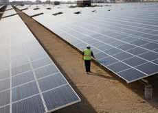 Solar farm to power Dubai's first sustainable city