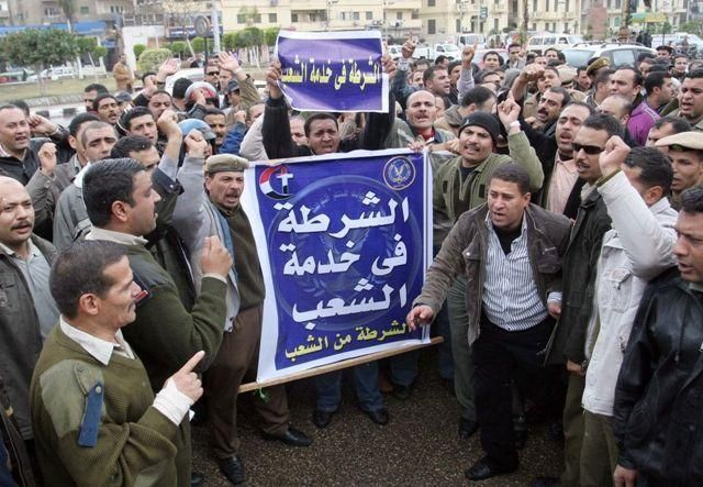 Egypt military says it will not allow strikes to go on