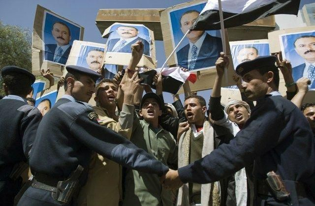 Yemen separatist leader arrested, protests draw fire