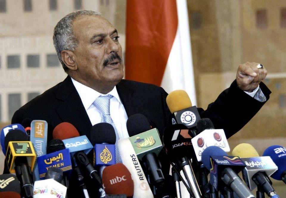 Yemeni president fires gov't amid protests
