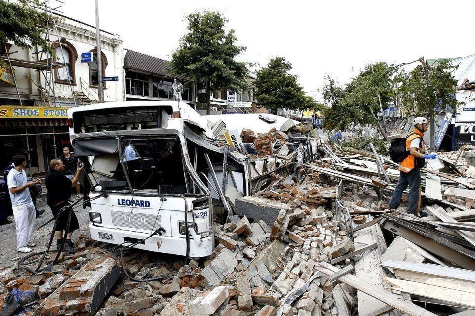 Christchurch quake causes extensive damage