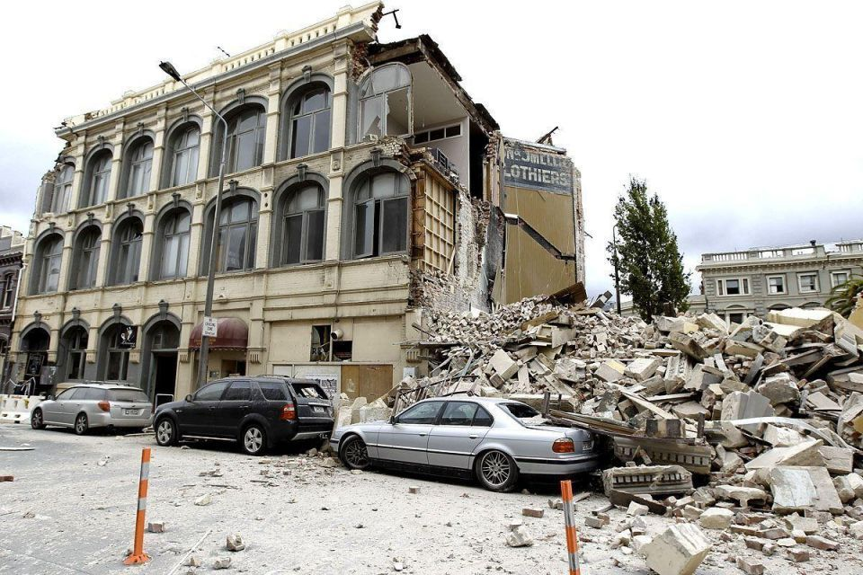 At least 75 dead in Christchurch earthquake