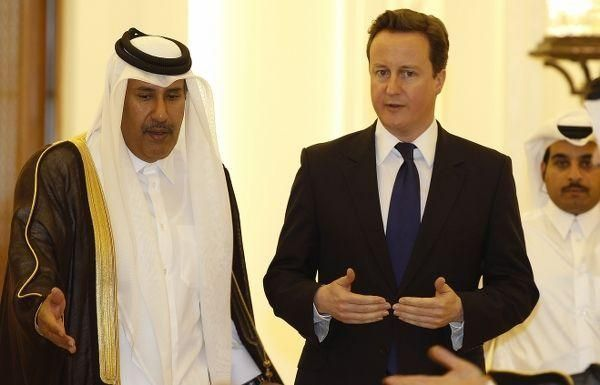 Some Middle East rulers use Israel as distraction, Cameron says