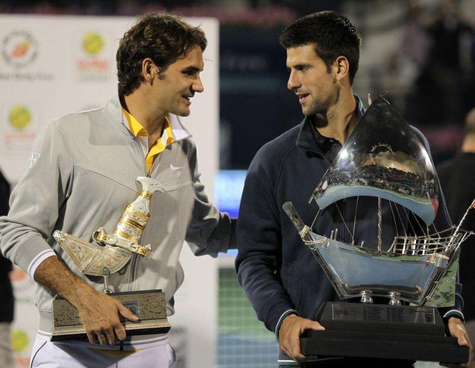 Djokovic beats Federer for Dubai title