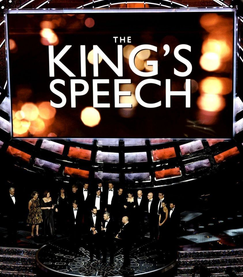 'King's Speech' sweeps the board at the Oscars