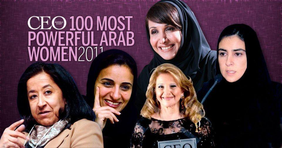 Sheikha Lubna tops female power list
