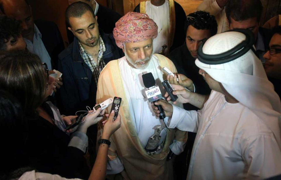 Oman warns on military confrontation with Iran
