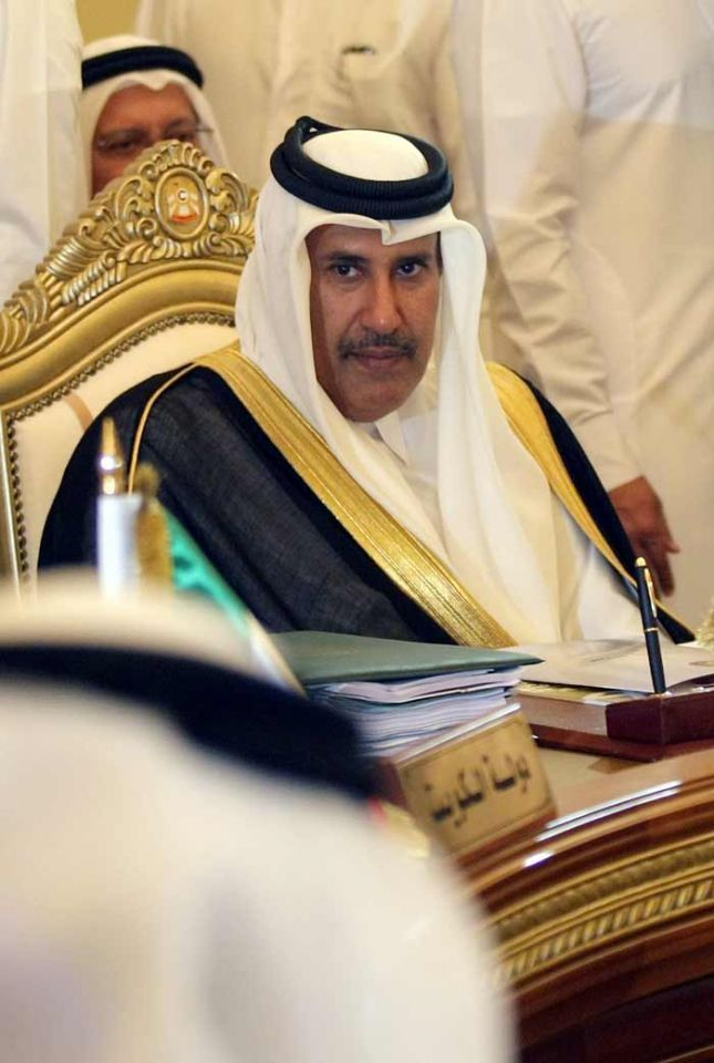 Qatar's PM urges Gaddafi to step down