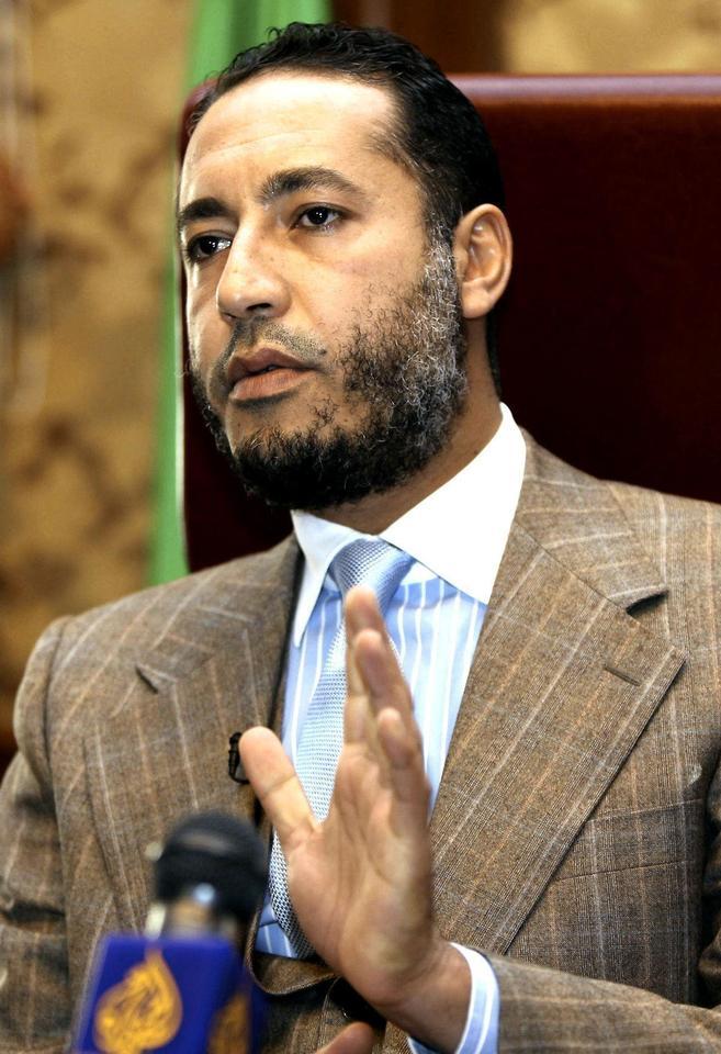Civil war looms in Libya, Gaddafi son says