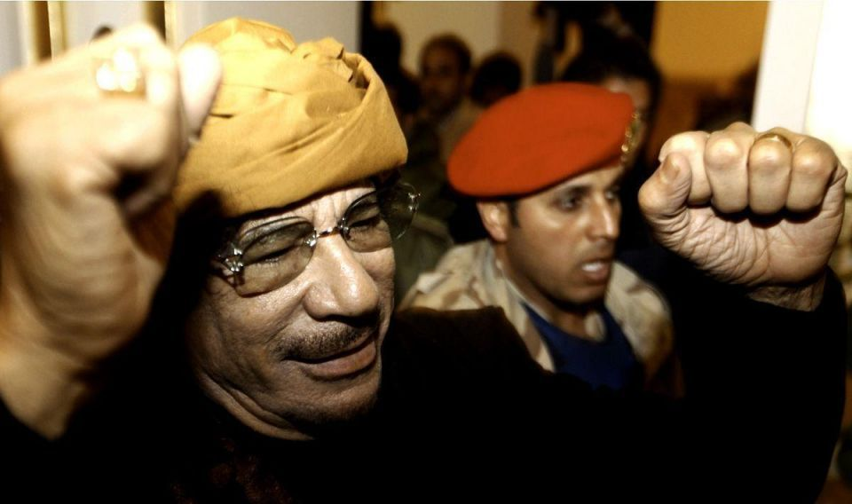 West will end in 'dustbin of history', Gaddafi says