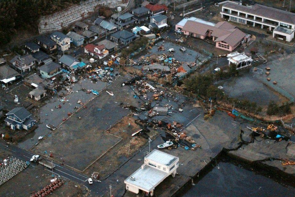 Massive earthquake hits Japan, tsunami triggered