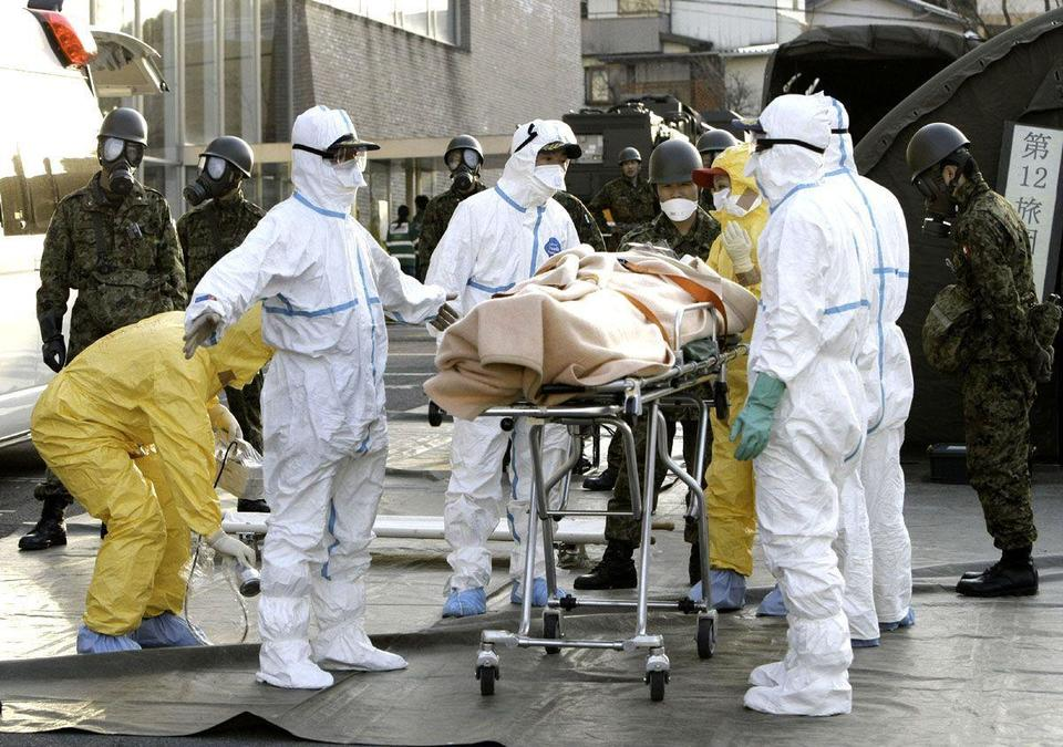 Blast strikes Japan plant as fears of radiation leak spread