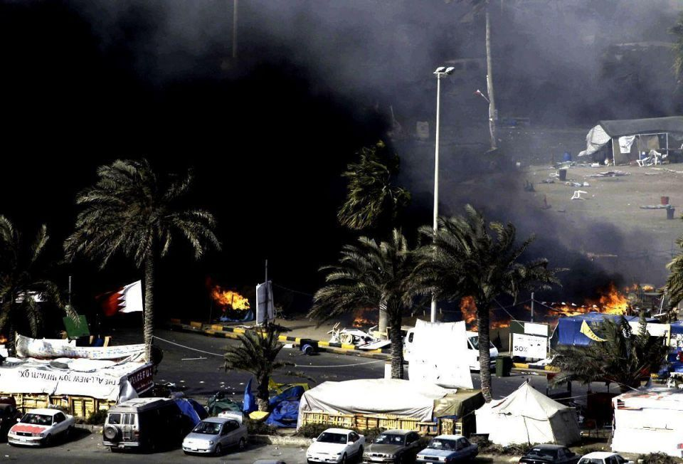 Two Bahrain policemen killed as violence spreads