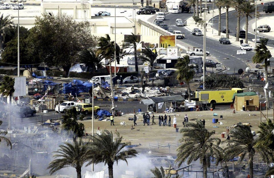 Gulf troops in Bahrain may spur Iran to join conflict