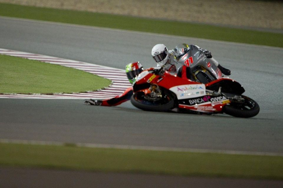 MotoGP's best riders get to grips with Qatar circuit