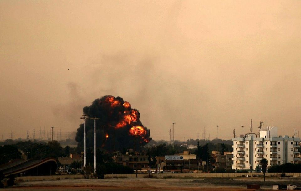 Allied warplanes go into action to stop Libya bloodshed