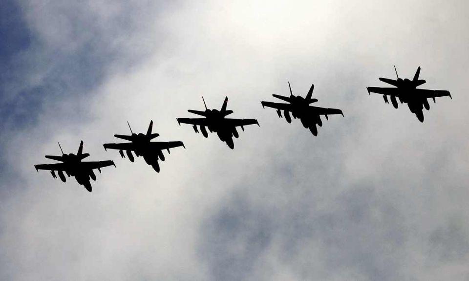 Qatar fighter jets land at Crete base