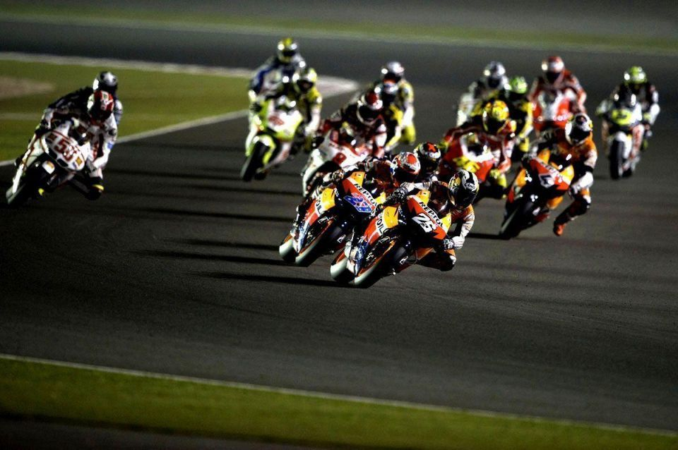 Speed and style: top action from Qatar's MotoGP race