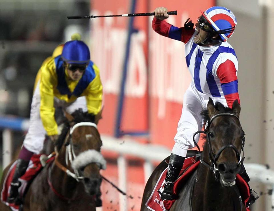 Best action from Dubai World Cup 2011