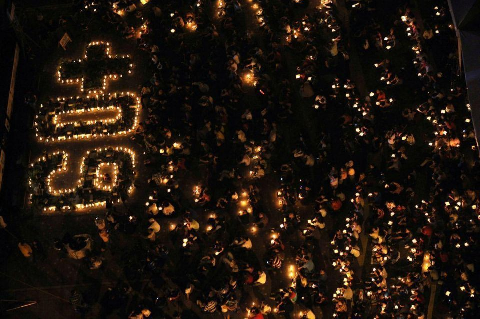 Lights out: Earth Hour across the globe
