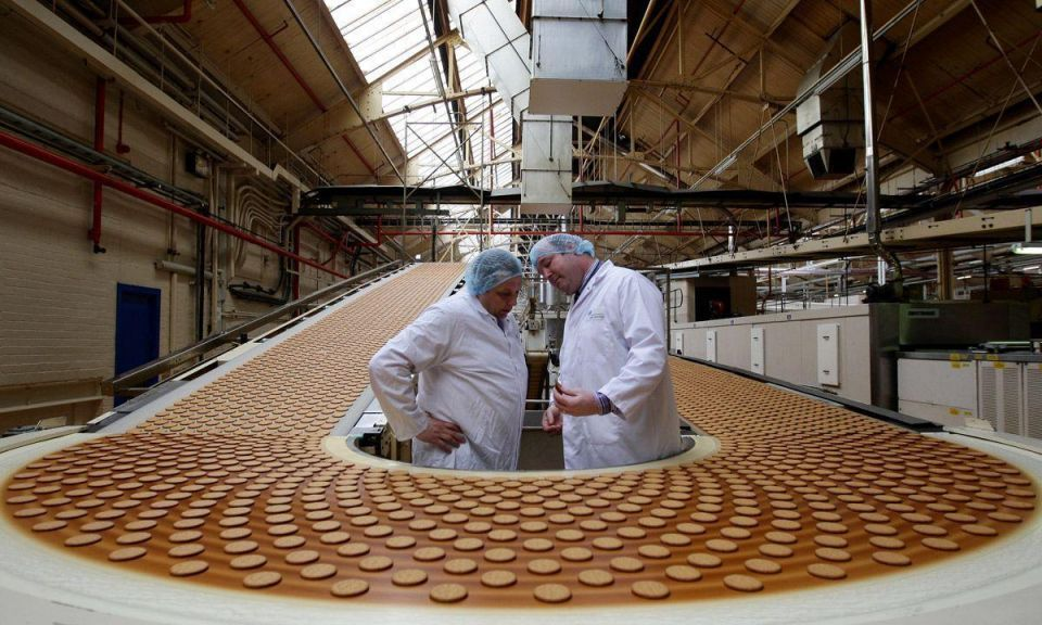 Biscuit maker leaps into action for royal wedding