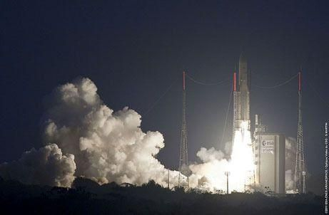 Abu Dhabi's first satellite has lift off from French Guiana