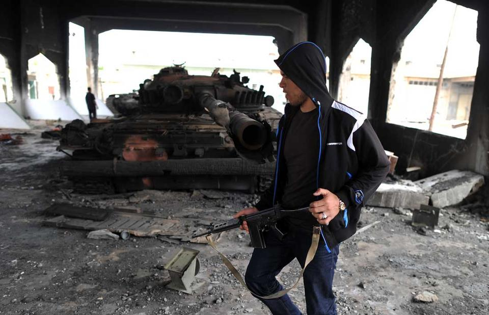 Aftermath of Libyan conflict in Misrata