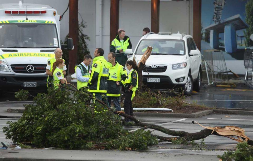 Two dead as tornado tears through Auckland