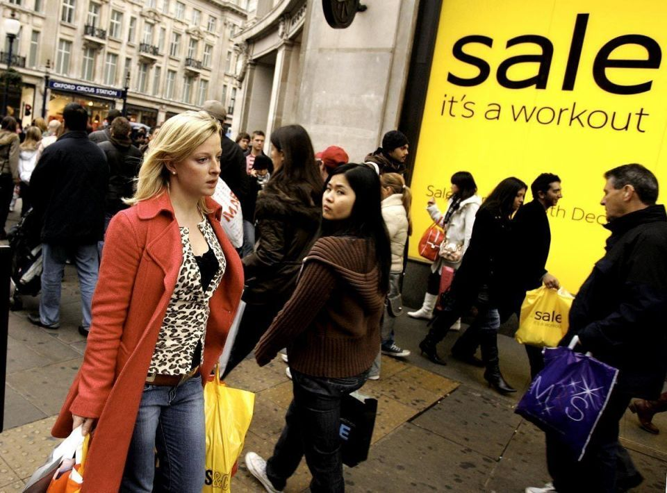 Middle East shoppers lift London's West End