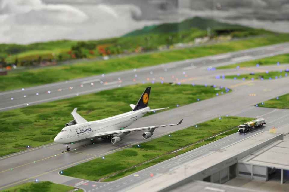 World's largest model airport opens in Germany
