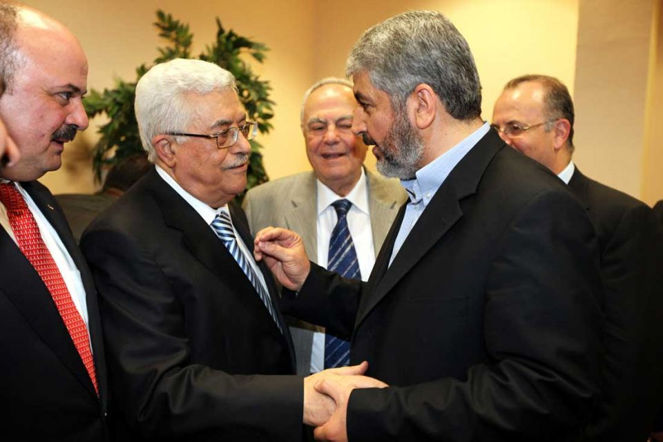 Palestinians end four-year rift at Cairo ceremony