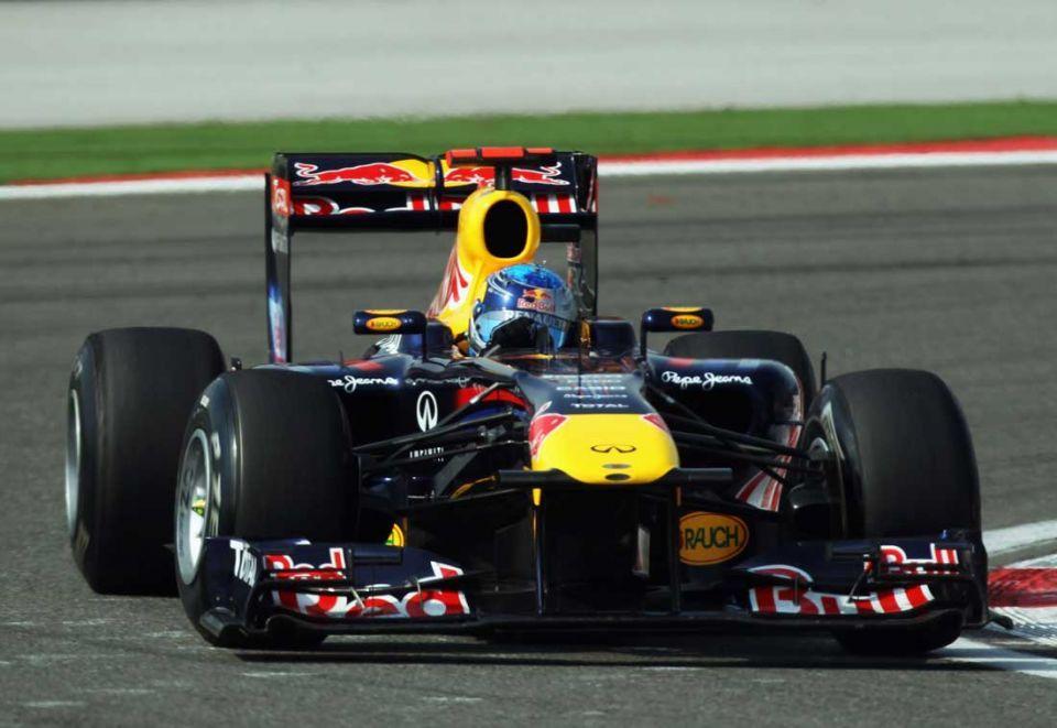 World champion Vettel races to season's third F1 win
