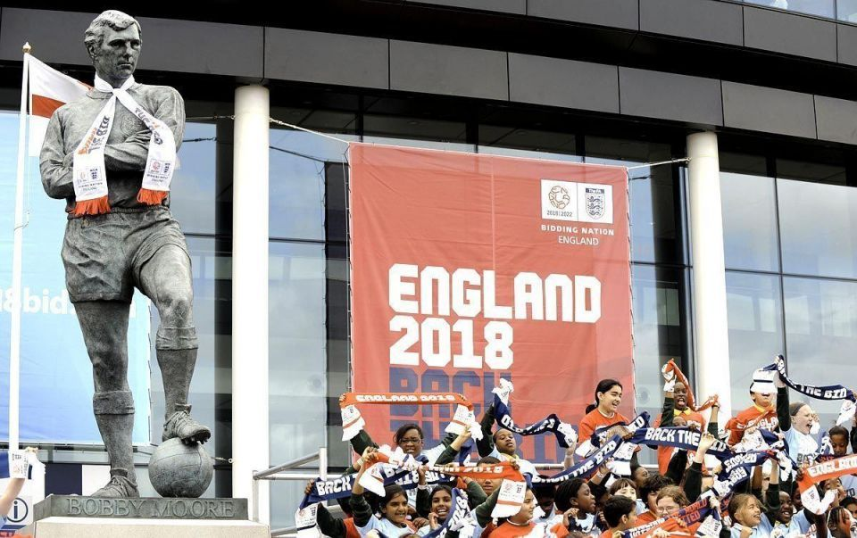 England World Cup bid said to have hired firm to snoop on rivals